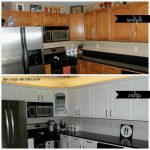 Best Paint Finish Kitchen Cabinets Our Diy Remodel Painting
