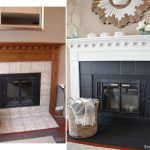Best Painting Fireplace Ideas Pinterest Brick Mantle Fire