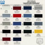 Best Ppg Paint Color Chart Automotive Charts