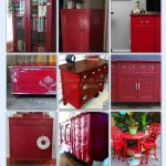 Best Red Ed Furniture Ideas Pinterest Dressers Chalk