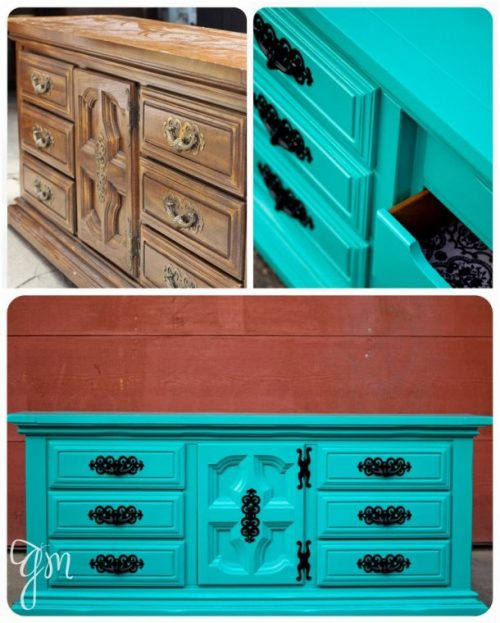 Best Turquoise Dresser Ideas Pinterest Distressed