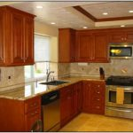 Best Wall Color Kitchen Honey Oak Cabinets Painting Post