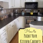 Best Way Refinish Painted Kitchen Cabinets