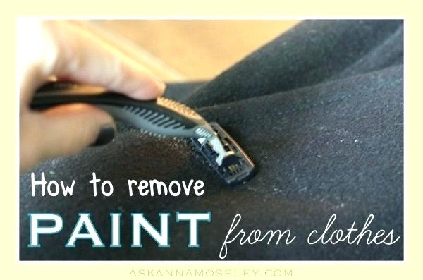 Best Way Remove Latex Paint Wood Drips