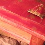 Best Way Sand Remove Paint Rounded Surfaces Like Coffee Table Legs