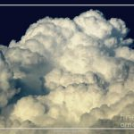 Billowing Clouds Oil Painting Effect Photograph Rose Santuci
