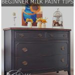 Black Chalk Paint Dresser