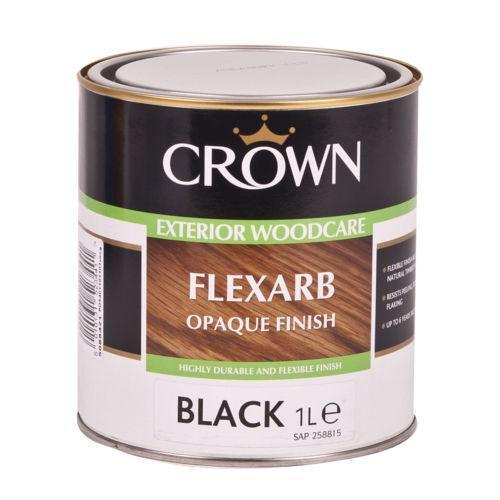 Black Exterior Wood Paint