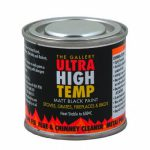 Black Heat Resistant Paint