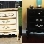 Black Paint Turns Old Dresser Into Chic New Piece