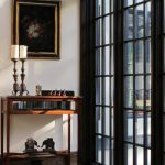 Black Painted French Doors