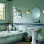 Blue Bathroom Ideas Gratifying Love Color Traba