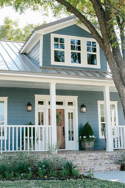 Blue Fixer Upper Home Decor Pinterest Exterior House