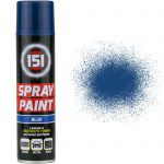 Blue Gloss Aerosol Paint Spray Cars Wood Metal Walls Graffiti