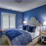 Blue Modern Bedroom Painted Living Rooms Master Paint Ideas