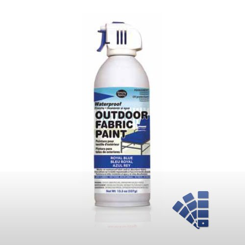 Blue Waterproofing Fabric Spray Paint Quick