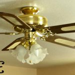 Brass Ceiling Fan Makeover Orc Salvage Sister