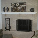 Brick Fireplace Makeover Holiday Season Anew