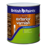 British Paints Oil Based Exterior Clear Satin