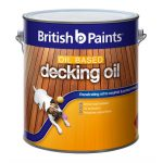 British Paints Oil Based Natural Exterior Decking Bunnings