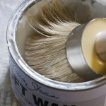 Brocante Home Chalk Paint Tutorial Waxing