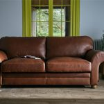 Brown Leather Sofa Spray Paint Home