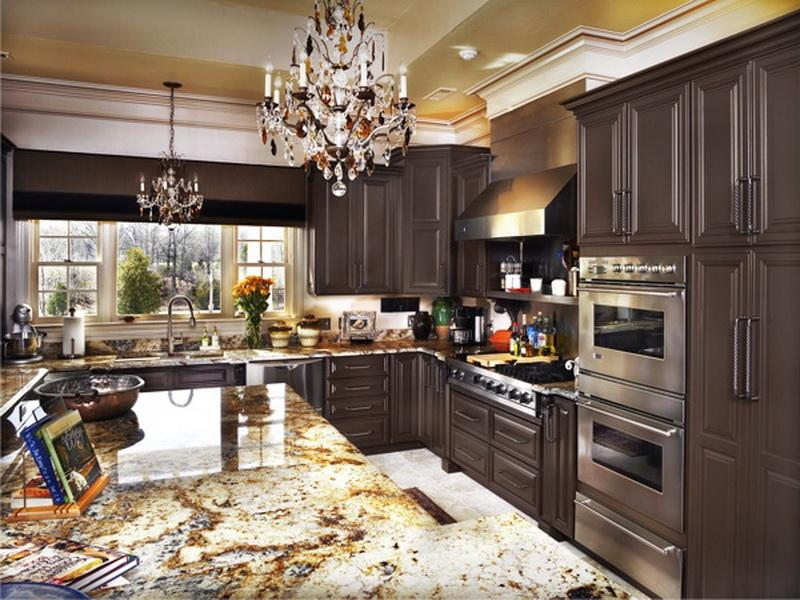 Brown Painted Kitchen Cabinets Your Dream