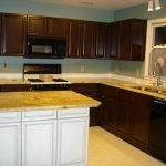 Brown Painted Large Kitchen Cabinets Your Dream