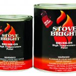 Brush High Temp Paintstove Bar Temperature Paint Special