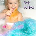 Bubble Bath Spray Painting Growing Jeweled