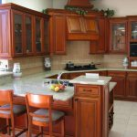 Cabinets Living Room Color Schemes Cherry Kitchen
