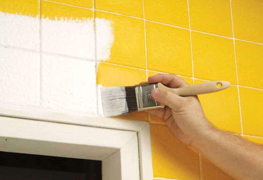 Can Paint Over Ceramic Tile Bay Area Painting Info