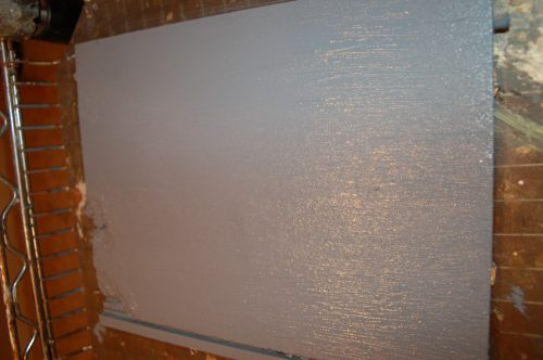 Can Paint Particle Board Cabinets