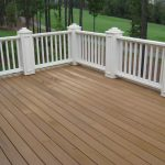 Can Stain Composite Decking
