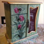 Cece Caldwell Paint Tutorial Painted Jewelry Cabinet Kentucky