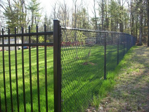 Chain Link Fence Paint Photos Design Ideas