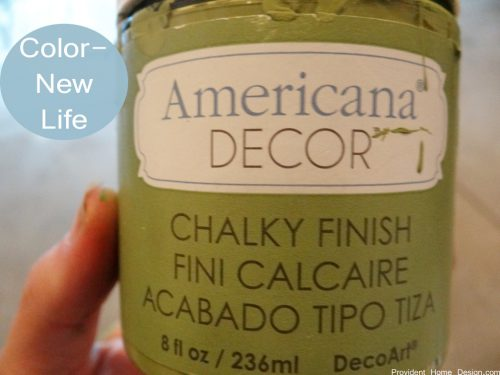 Chair Makeover Americana Brand Chalk Paint