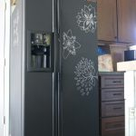 Chalk Board Paint Your Fridge
