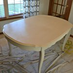Chalk Paint Dining Room Table Upcycle Adventure Cards