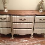 Chalk Paint Dresser Redo Part Home Sweet
