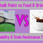 Chalk Paint Drink Spill Test Durability Stain Resistance Truth