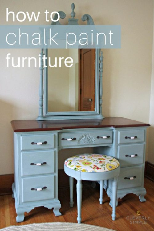 Chalk Paint Furniture Cleverly