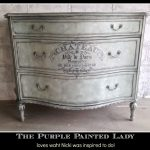 Chalk Paint General Finishes Products Stunning Piece Nicki Purple Painted