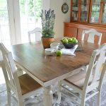 Chalk Paint Grandma Antique Dining Table Chairs