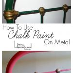 Chalk Paint Metal Antique French Cast Iron Bed Makeover Anna