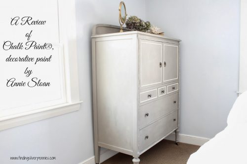 Chalk Paint Review Clifton Armoire Finding Silver