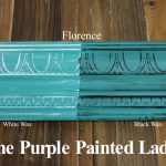 Chalk Paint Sample Board Colors All Row Purple Painted