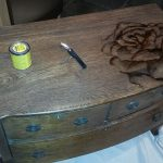 Chalk Paint Stain Painted Dresser Furniture Painting