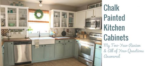Chalk Painted Bathroom Vanity Makeover Our Storied