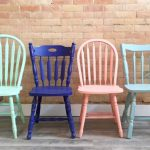 Chalk Painted Chairs Tabella